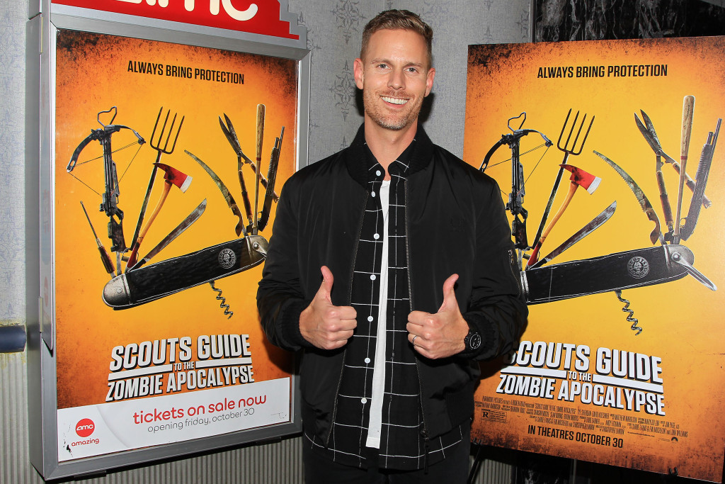 - New York, NY - 10/28/15 -Christopher Landon attends a Fan Screening of SCOUTS GUIDE TO THE ZOMBIE APOCALYPSE, from Paramount Pictures