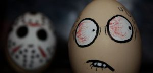 Easter Eggs Horror Movies Decorating idea's