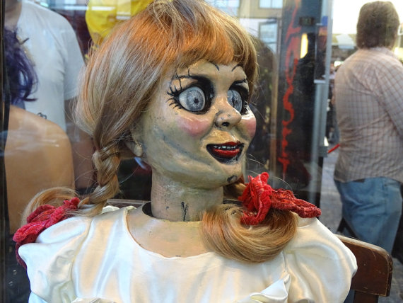 Annabelle doll replica