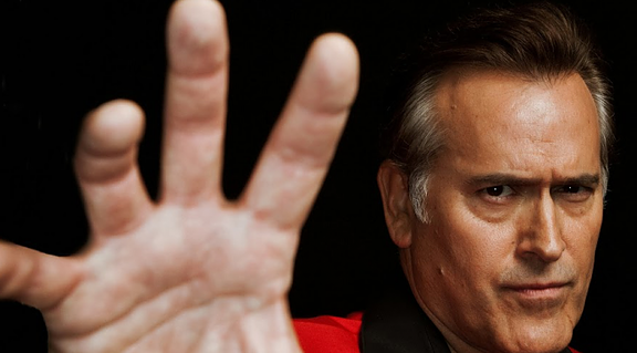 Bruce Campbell The hand