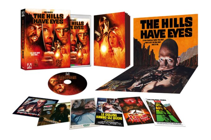 The Hills Have Eyes 4k blu ray