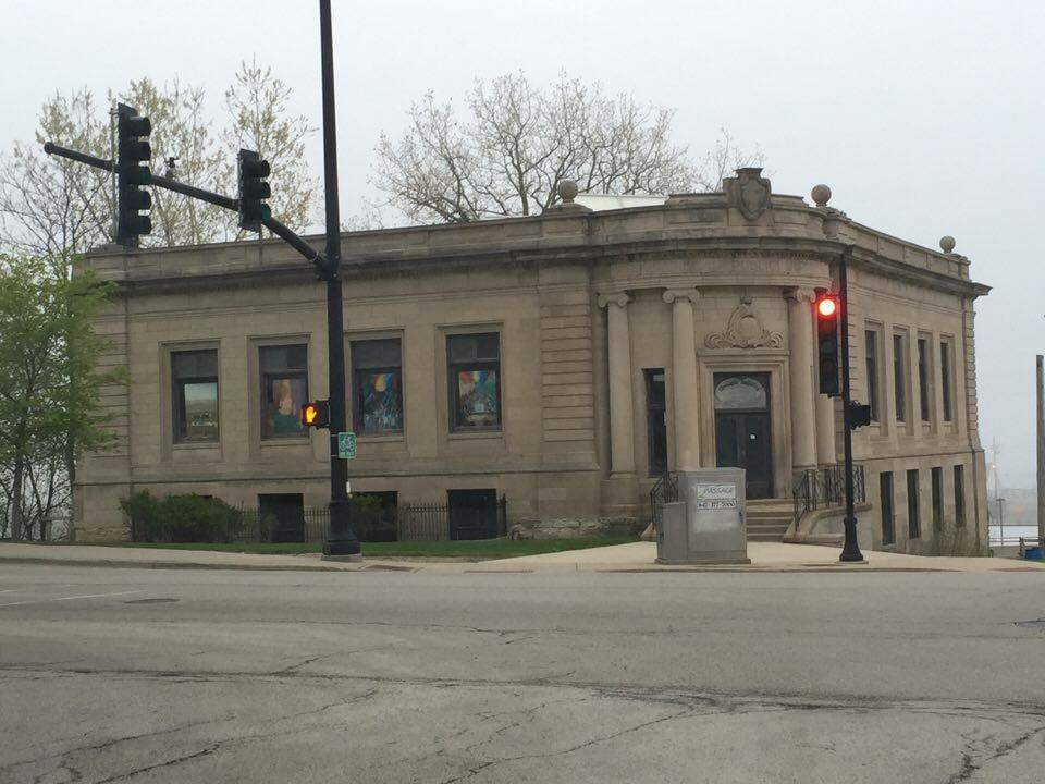 The Carnegie Library in downtown Waukegan