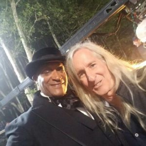 Tony Todd and Director Mick Garris Dead Of Summer