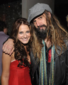 Actress Scout Taylor-Compton and director Rob Zombie attend the Halloween II after party at Mood on August 24, 2009 in Hollywood, California. Halloween II Los Angeles Premiere - After Party Mood Hollywood, CA United States August 24, 2009 Photo by John Shearer/WireImage.com To license this image (16928531), contact WireImage.com