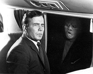 Shatner can't face the monster in the clouds