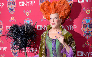 NEW YORK, NY - OCTOBER 28: Bette Midler attends Bette Midler's Annual Hulaween Bash celebrating the New York Restoration Project at the Waldorf=Astoria on October 28, 2016 in New York City. (Photo by Presley Ann/Patrick McMullan via Getty Images)