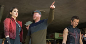 Joss on ULTRON set (Google Images)