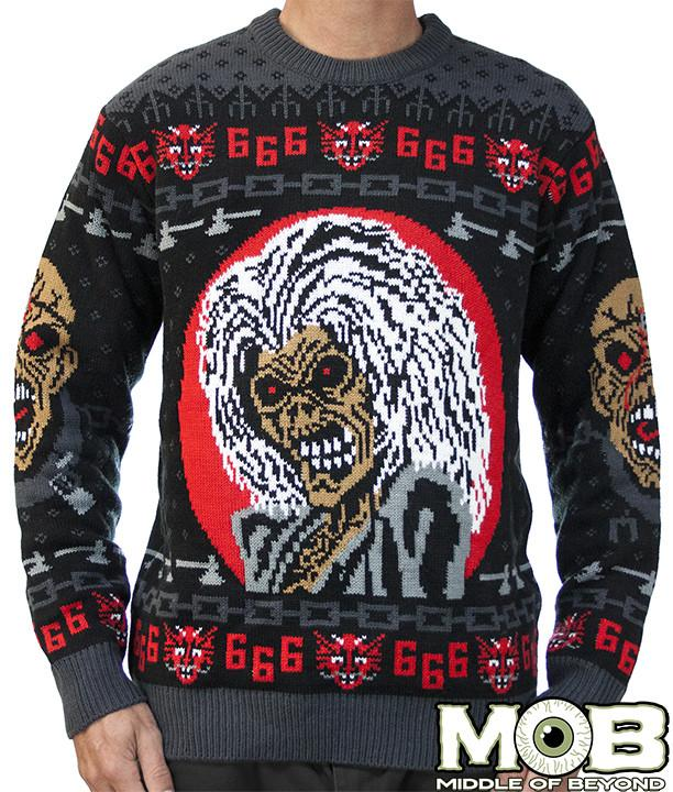 Iron Maiden Xmas Sweater