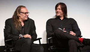 Greg Nicotero and Norman Reedus - inquisitor.com