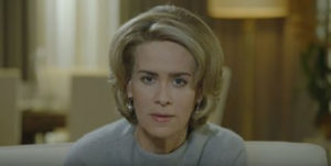 Lana Winters (Sarah Paulson) in American Horror Story Roanoke - ibtimes.co.uk (via Google Images)