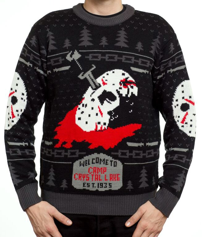 Ugly Xmas Sweater Time For Horror Fans! - Tom Hollands Terror Time