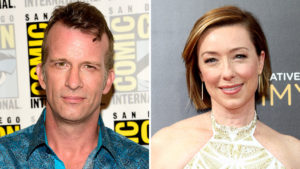 (L to R) Thomas Jane, Molly Parker