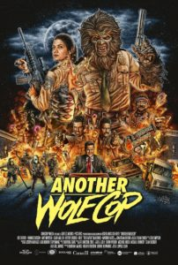 Another WolfCop movie poster