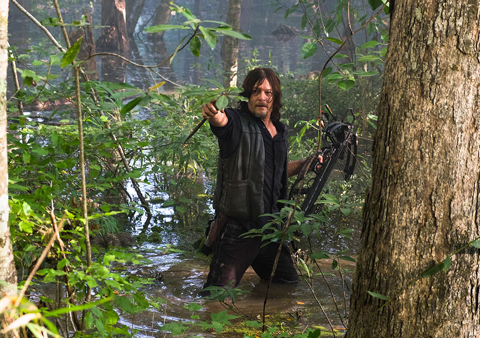 Norman Reedus The Walking Dead Season 8 return