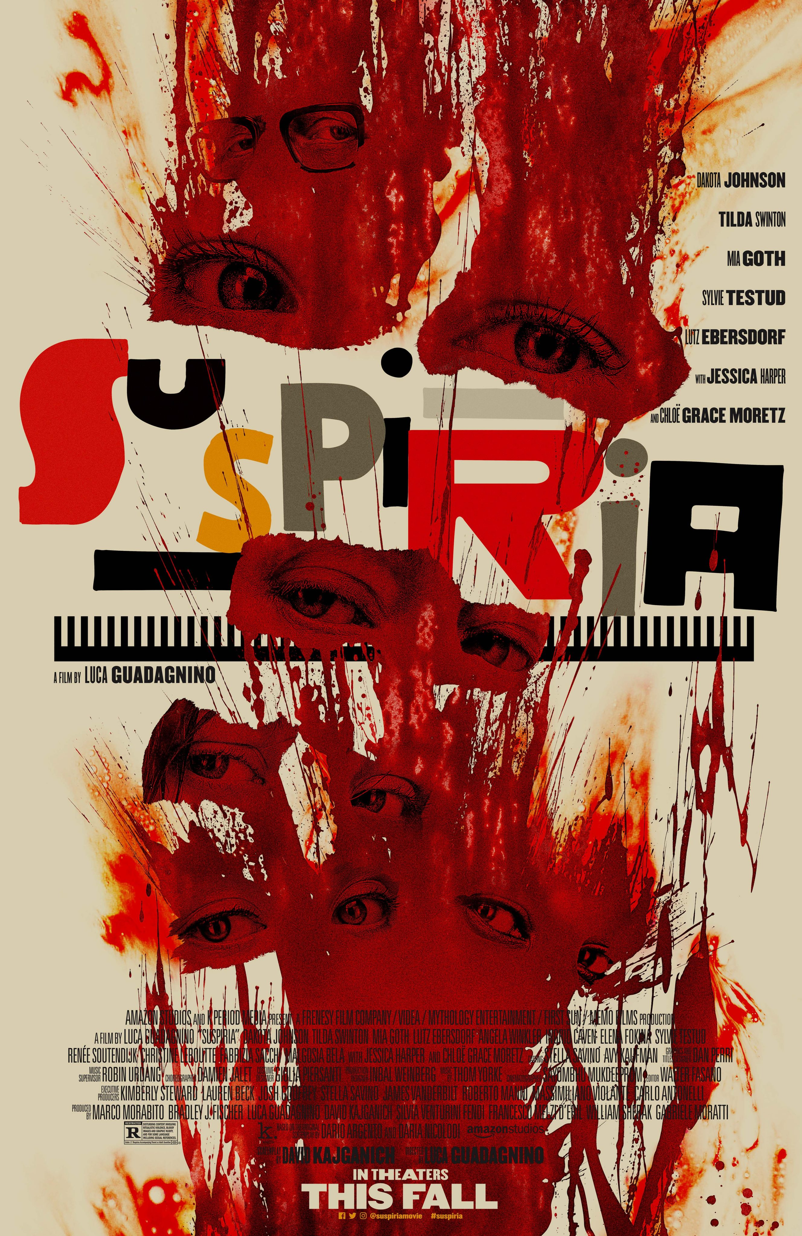 Suspiria Official Bloody Good Poster Drops